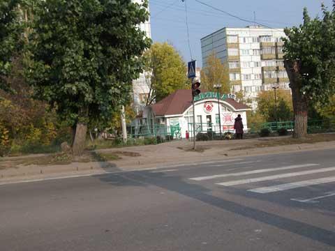 """Пешеходный переход у остановки """"ул.Кижеватова"""" - частичная доступность"""