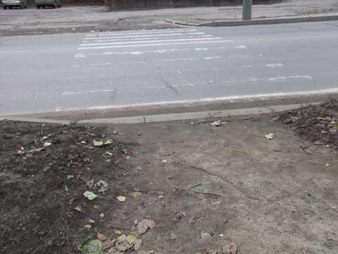 Пешеходный переход ул.Окружная 4 - полная доступность