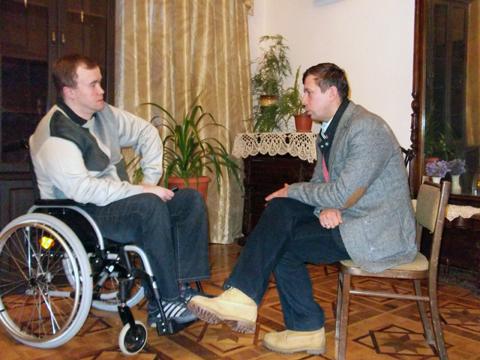 Андрей Мерзликин: Помощь человеку, чьи физические возможности ограничены - это путь для достижения гармонии с самим собой