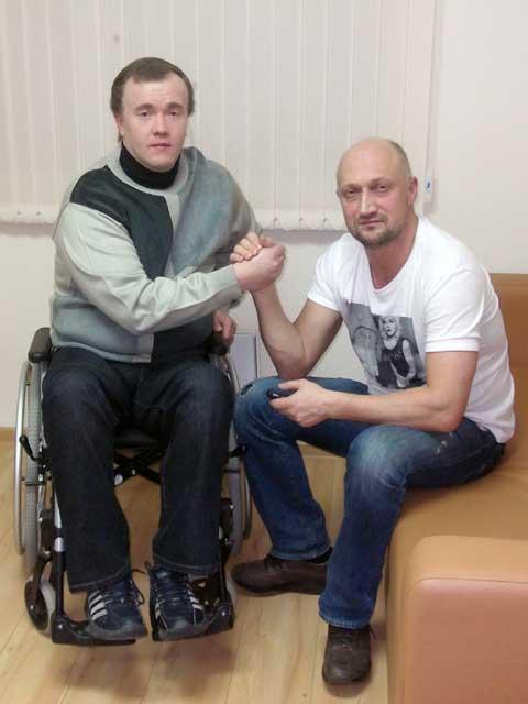 Гоша Куценко и Дмитрий Васьков