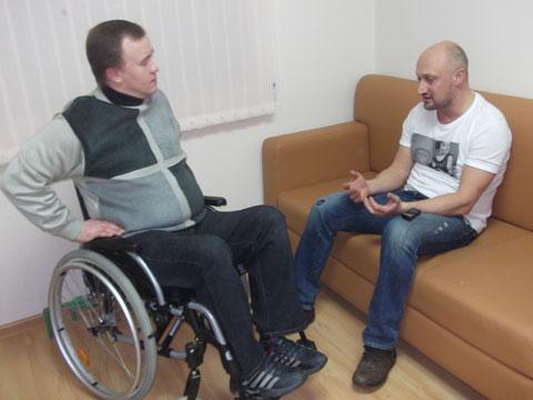 Гоша Куценко: Люди с ограниченными возможностями здоровья, своими примерами мужества учат нас жизни!
