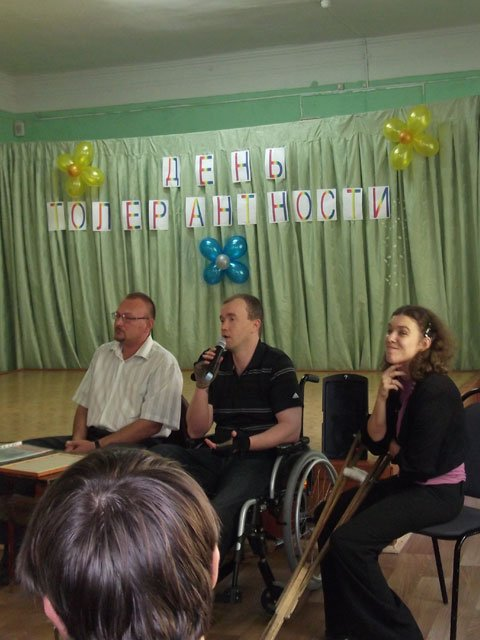 Журналисты «Доступного мира» провели урок толерантности в школе №43 г. Пензы