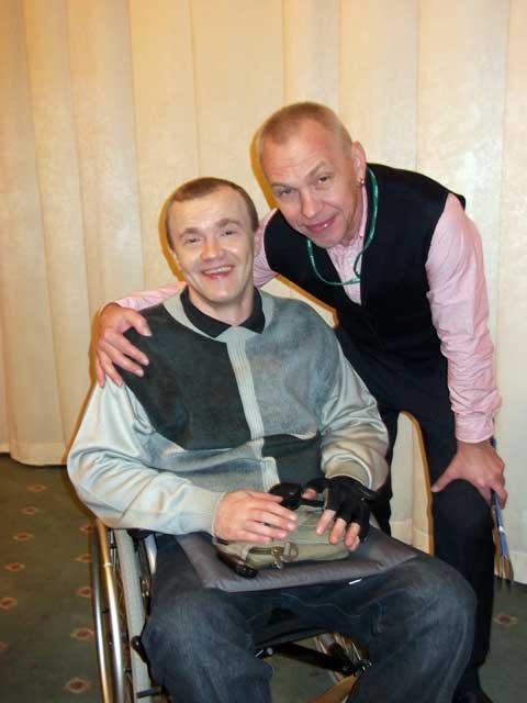 Александр Ф Скляр рассказал о толерантном отношении к людям с физическими ограничениями