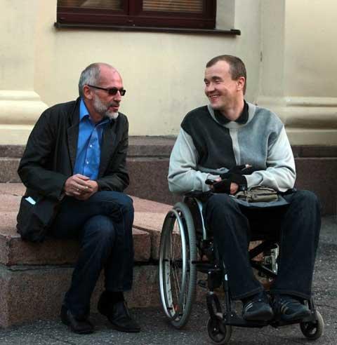 Александр Гордон дал эксклюзивное интервью для DISABILITY TODAY