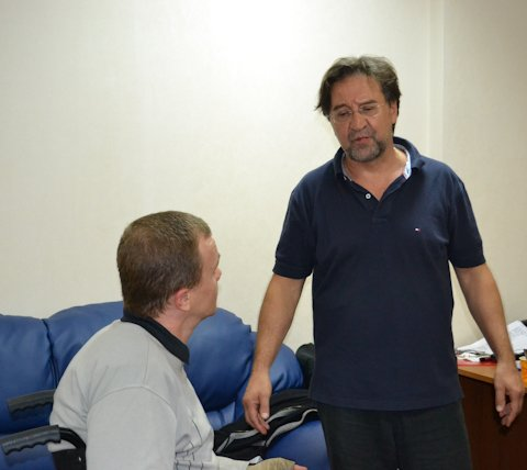Юрий Шевчук встретился с журналистами «Доступного мира»