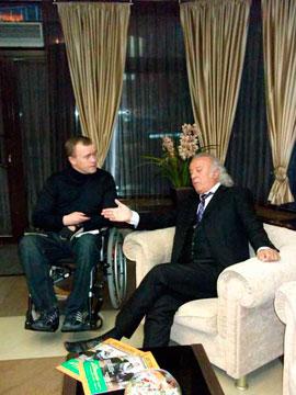 Илья Резник дал эксклюзивное интервью для DISABILITY TODAY
